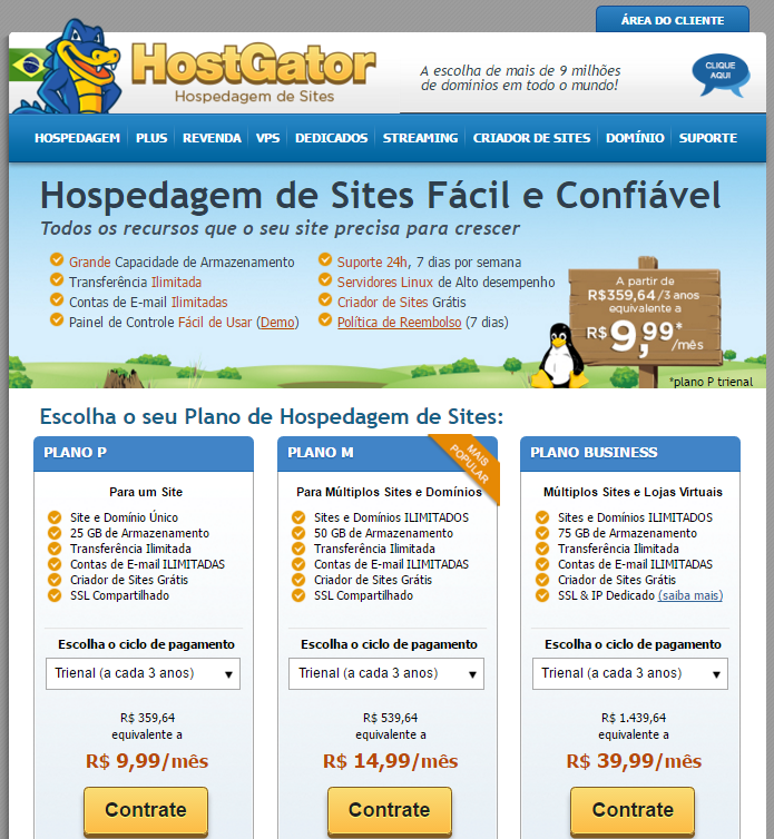 planos hostgator