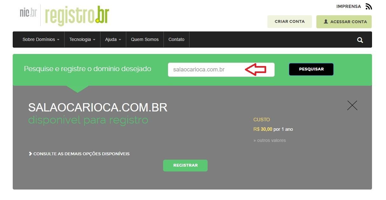 registrobr-para-hospedagem-site